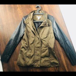 Military Style Khaki Green Jacket